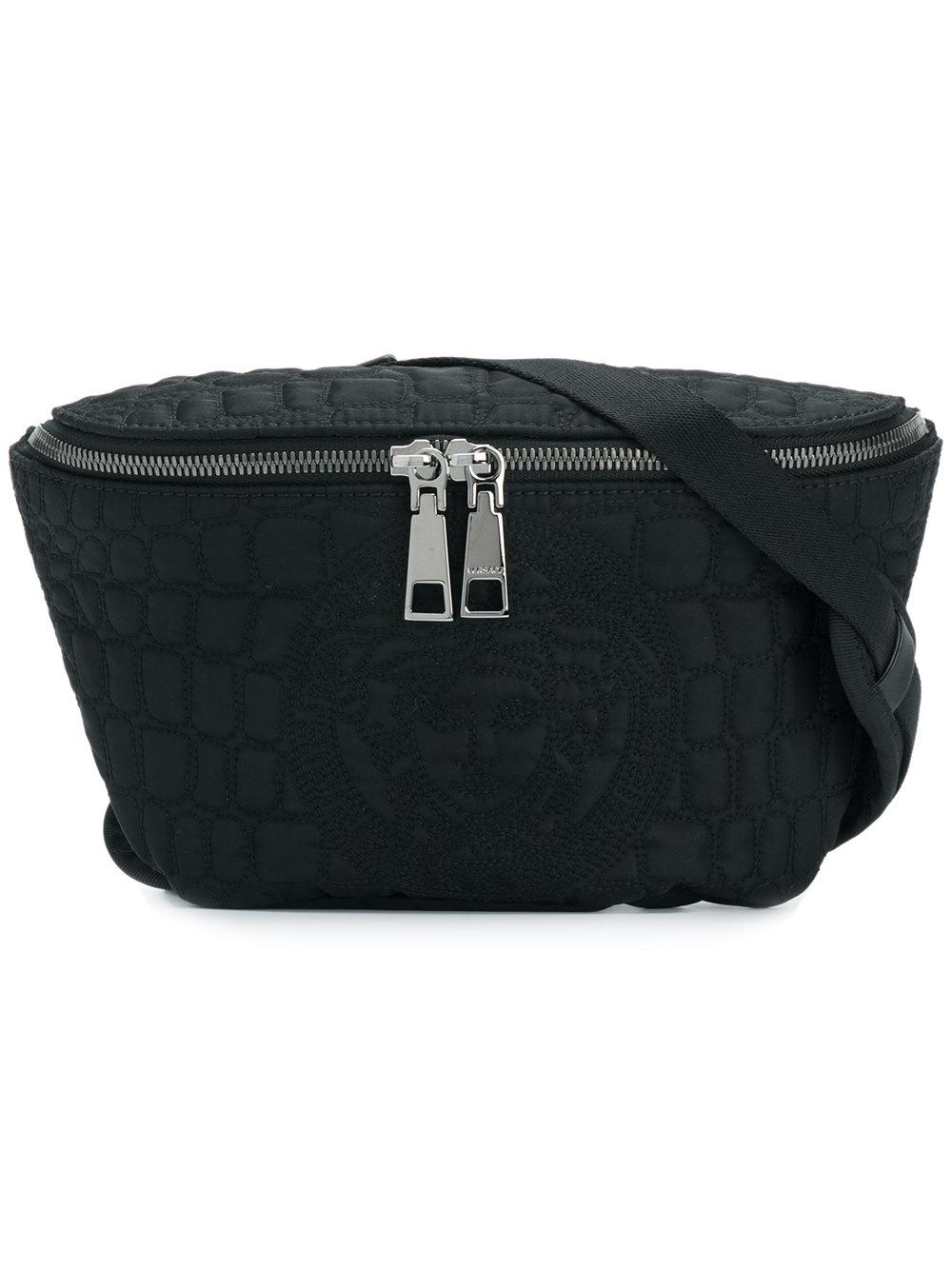 416c3e20d3c7 Versace поясная сумка с декоративной строчкой 'Medusa' - Glami.ru