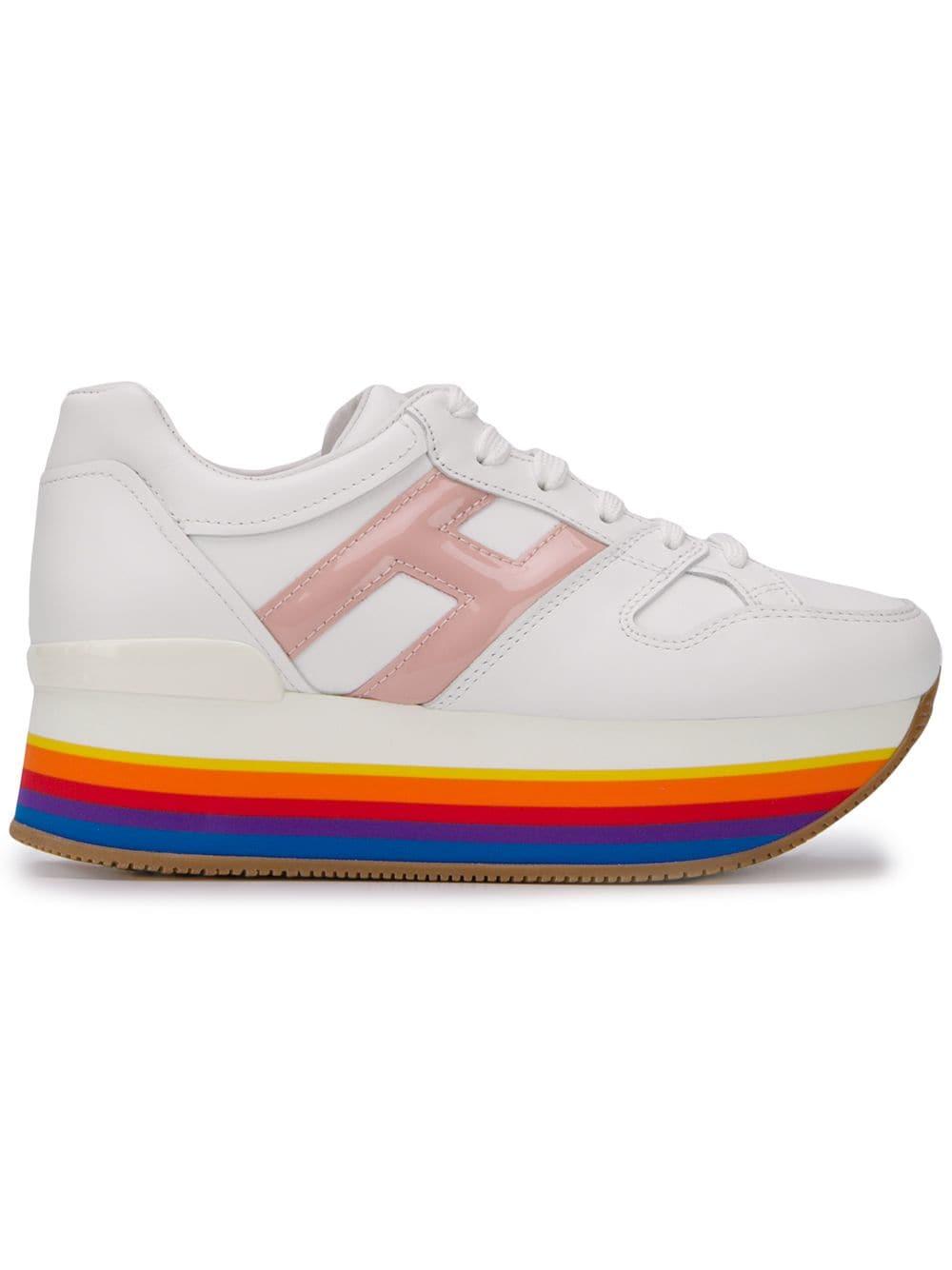 b2aa65a0 Hogan кроссовки на платформе - Glami.ru