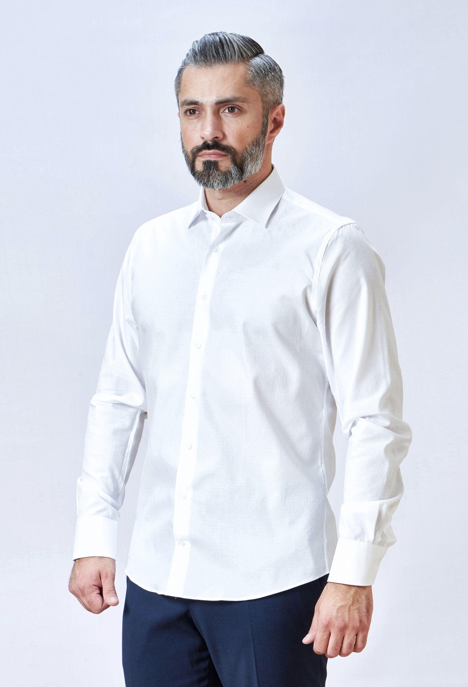 a6b4907d08b Рубашка Mario Machardi CL28071 39 белый