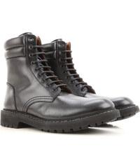 ac91dc600 Givenchy Мужские сапоги, ботинки В продаже со скидкой, Черный, Кожа, 2019,