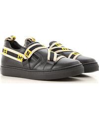 5b56f96ea4c5 Fendi Детская обувь для мальчиков В продаже со скидкой, Черный, Кожа, 2019,