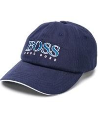 Boss Hugo Boss logo embroidered cap - Синий 3d506534342