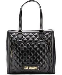 1823a1bb5cee Love Moschino стеганая сумка-тоут с логотипом - Glami.ru