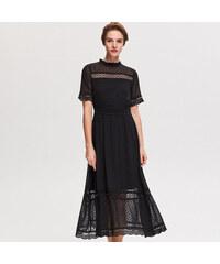 3929351eb3a Reserved - Платье с кружевом - Черный