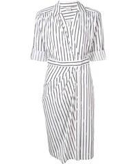 582e55d6bde Pinko платье-рубашка в полоску