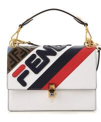 bb7fa238ce50 Fendi Женская сумка через плечо В продаже со скидкой, Белый, Кожа, 2019