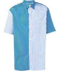 05496935a48ca54 Kenzo двухцветная рубашка в полоску - Glami.ru