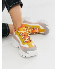 fd54485c9 Cat Footwear Желто-розовые кроссовки CAT Intruder 2 - Мульти