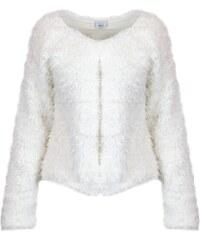 ANIS COLLECTION MILANO Womens 931545WHITE White Cotton Cardigan