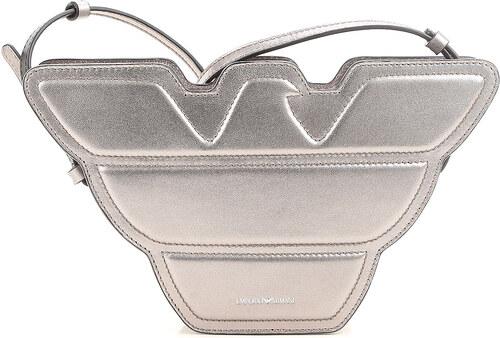 87a3f7a82dca Emporio Armani Женская сумка через плечо В продаже со скидкой, Оружейный  металл, Кожа,