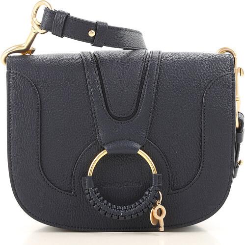 404864fe8668 -27% Chloe Женская сумка через плечо В продаже со скидкой, цвет ночи, Кожа,  2019