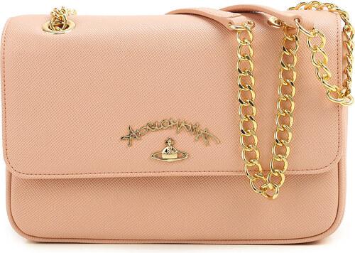 a06a30849ca2 Vivienne Westwood Женская сумка через плечо, старый розовый, Кожа, 2019
