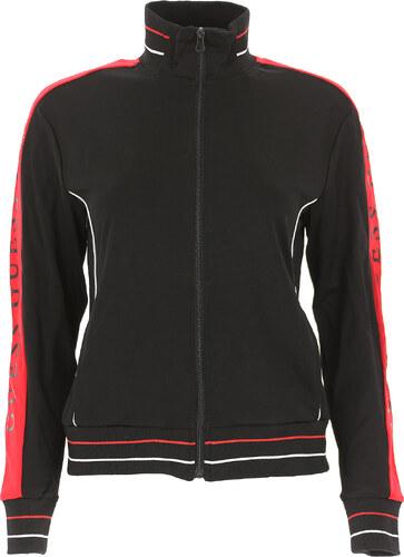 71d9a73b -28% Guess Женская спортивная одежда В продаже со скидкой, Черный, Вискоза,  2019, 2