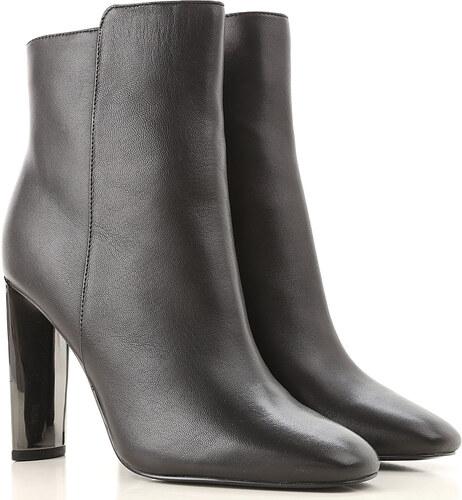 885d051d2 -27% Guess Женские сапоги, ботинки В продаже со скидкой, Черный, Кожа, 2019,