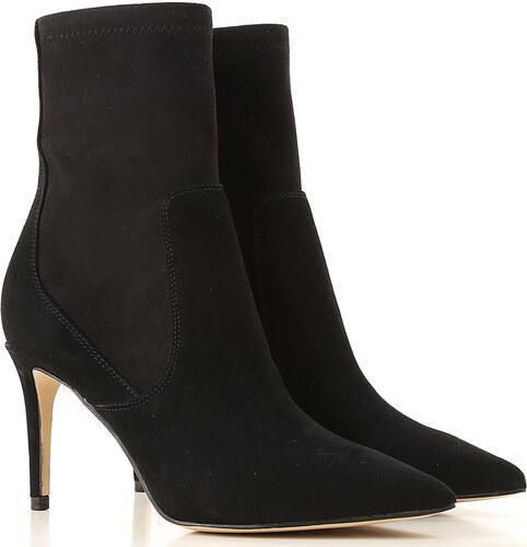 5387f3293 -28% Guess Женские сапоги, ботинки В продаже со скидкой, Черный, Замша,  2019,