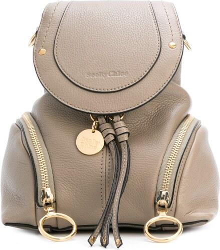 6435e121681c See By Chloé мини рюкзак с откидным клапаном - Glami.ru