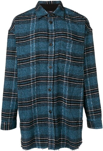 00cb72124c1 Diesel рубашка в клетку с отделкой кантом - Glami.ru