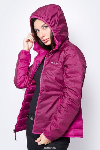 -50% Пуховик женский Columbia Lake 22 Reversible Hooded Jacket 74350770fc0be