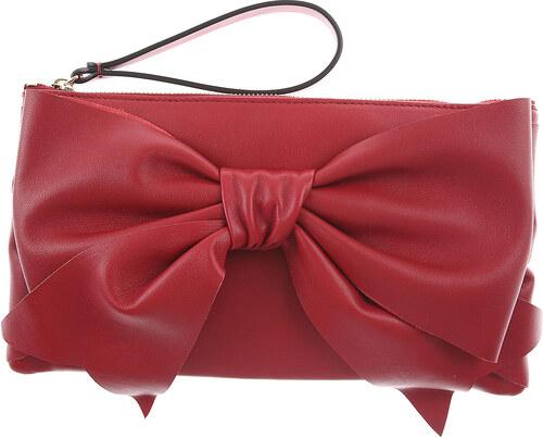 04be52c306d1 RED Valentino Сумка клатч В продаже со скидкой, Насыщенный розо, Кожа, 2019