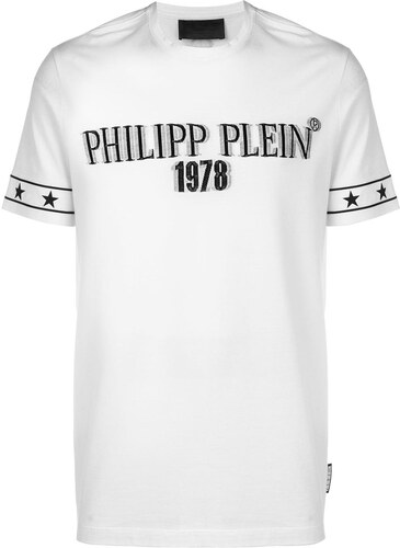 e77c599f52503 Philipp Plein футболка с заплаткой с логотипом - Glami.ru