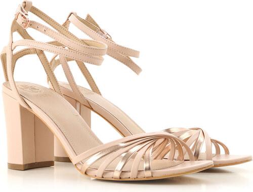 e2d5af205 -27% Guess Женские сандалии В продаже со скидкой, Розоватый оттенок, Кожа,  2019, 10