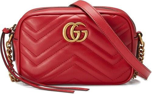 f9eaa325a448 Gucci стеганая мини-сумка 'GG Marmont' - Glami.ru