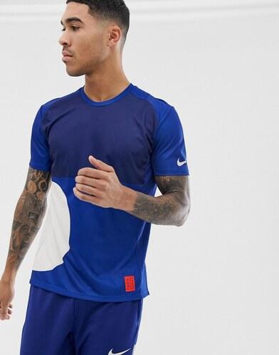 0d7f1c44d15e Темно-синяя футболка Nike Running Tokyo pack miler - Серый - Glami.ru