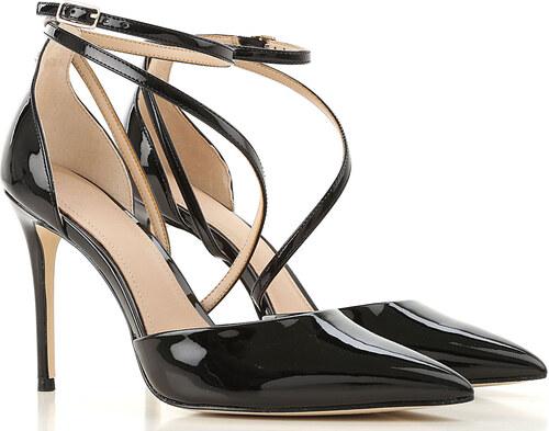 98f915cb5 Guess Женская обувь В продаже со скидкой, Черный, Лакированная кожа, 2019,  10