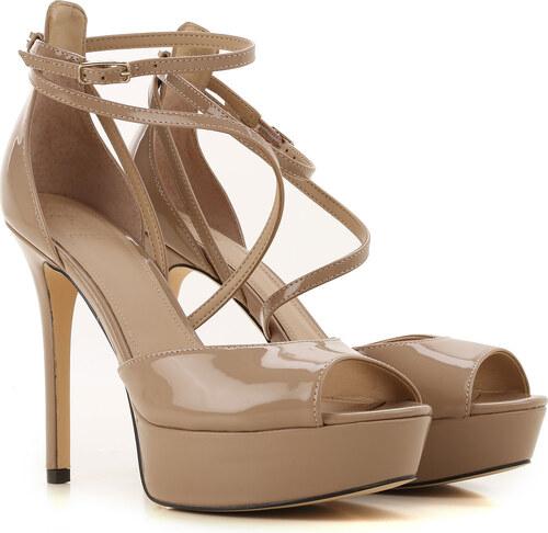 77a40f7ca -27% Guess Женская обувь В продаже со скидкой, Темный телесный,  Лакированная кожа, 2019,