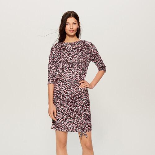 e9d18bf13a4 Mohito - Платье с леопардовым принтом - Фиолетовый - Glami.ru