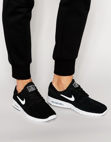 buy cheap 78b82 b2535 -40% Черные кроссовки Nike SB Stefan Janoski Max 685299-002 - Черный