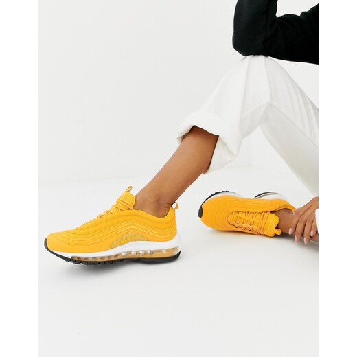 a3f9b9a1 Желтые кроссовки Nike Air Max 97 - Желтый - Glami.ru